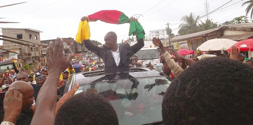 Kribi: Cabral Libii cible les jeunes