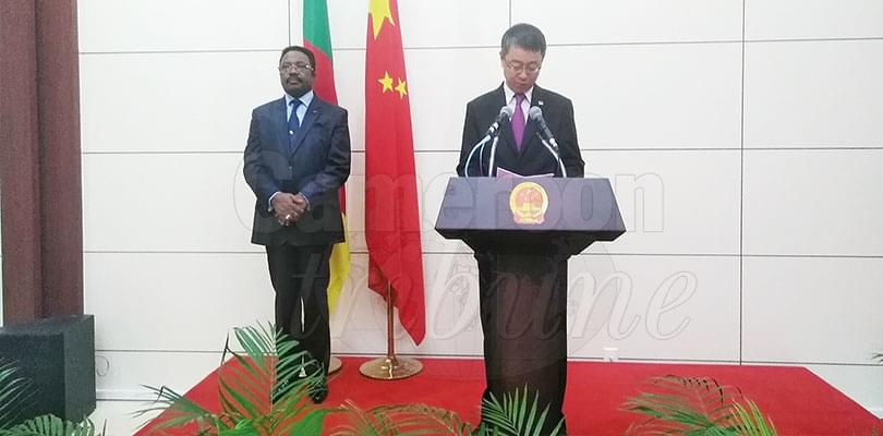 Image : Cooperation between Cameroon and China has