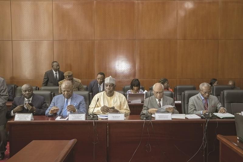 Image : 2019 State Budget: Ministers Defend Draft Projections At Senate