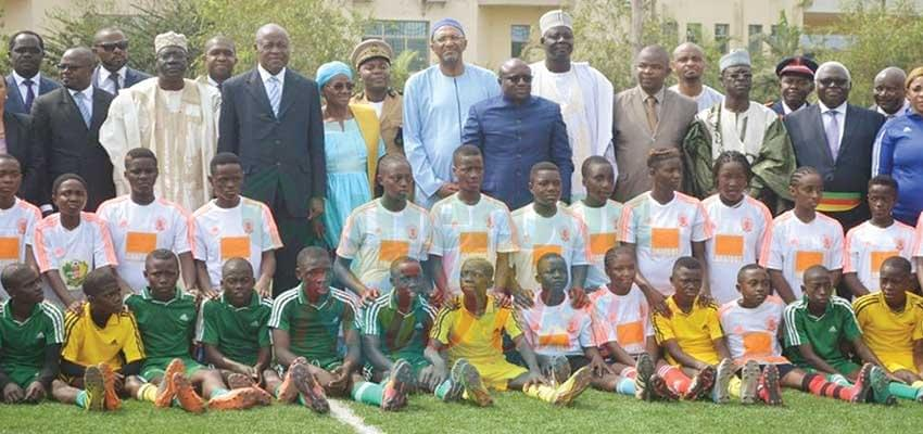 Image : National Football Academy: First Batch Of Boarders Presented