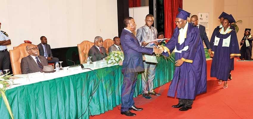 Image : Université panafricaine: 246 lauréats sur le marché