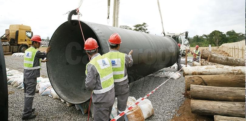 Image : Sanaga Water Project: Work Progresses On The Field