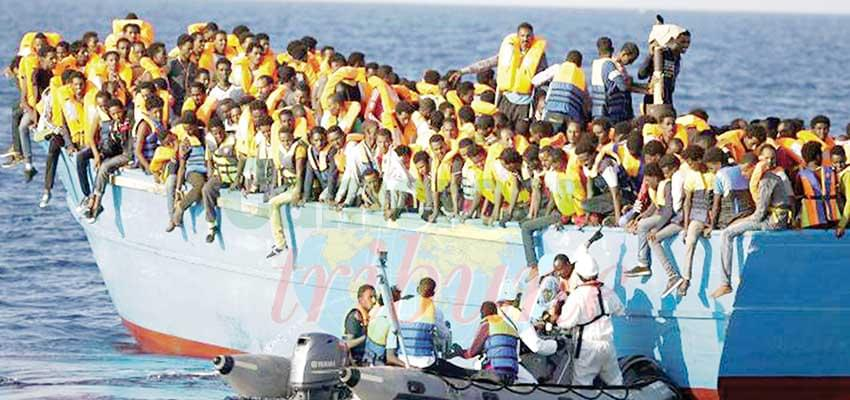 Illegal Migration : Rescue Ship En Route