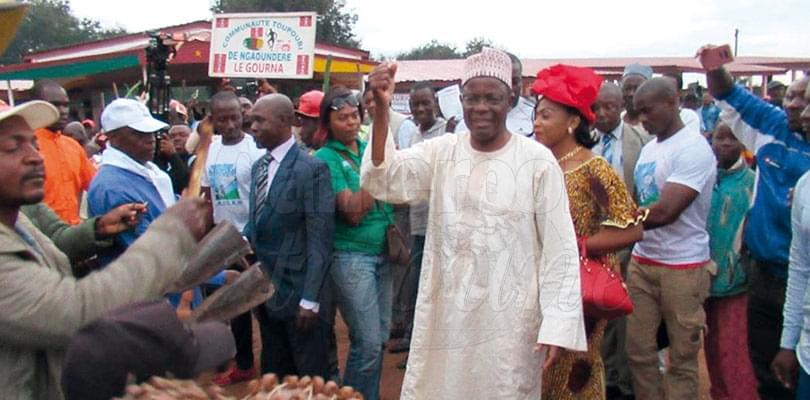 Image : Ngaoundéré: un meeting bien arrosé de Kamto