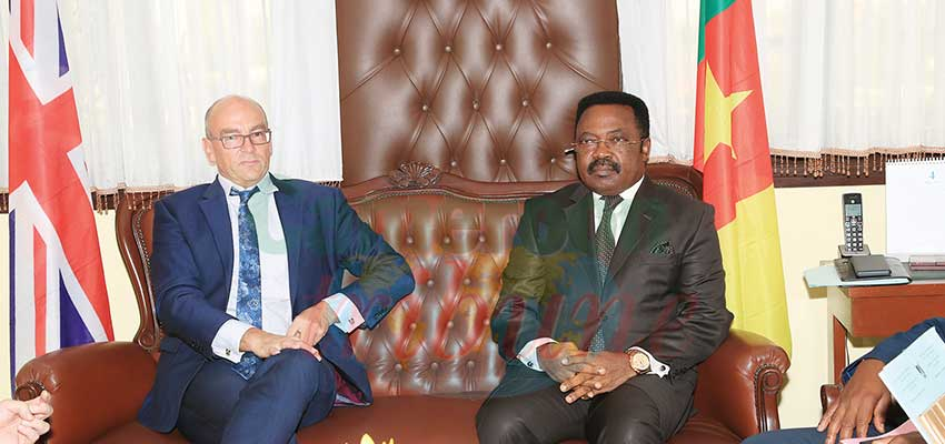 Cameroon-United Kingdom Cooperation: Cameroon Reassured Of Constant Support
