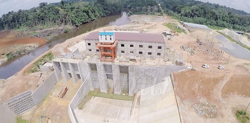Image : Barrage hydro-électrique de Memve'ele: une grande réalisation achevée