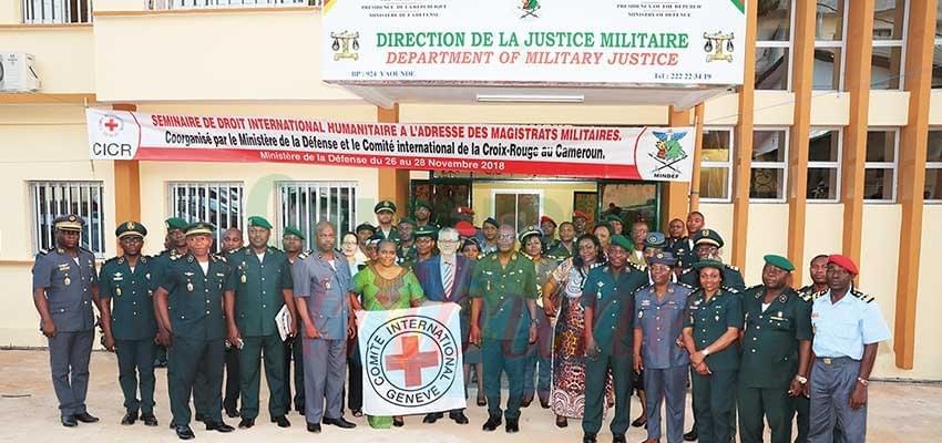Image : Justice militaire: des magistrats formés au droit international humanitaire
