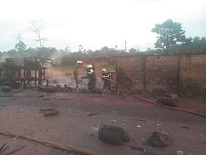 Image : Yaoundé: des explosions de gaz créent l'émoi