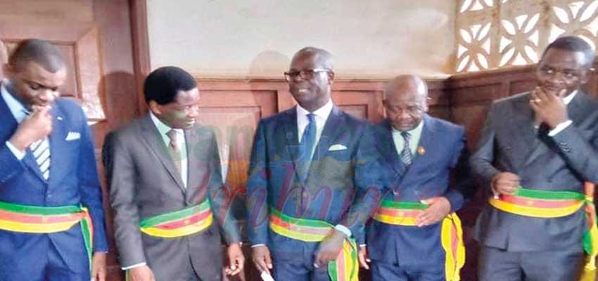 Yaoundé : les maires d'arrondissement prêtent serment
