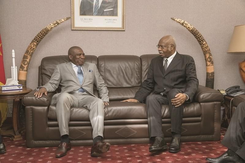 Image : Audience: le ministre équato-guinéen du Travail chez le PM