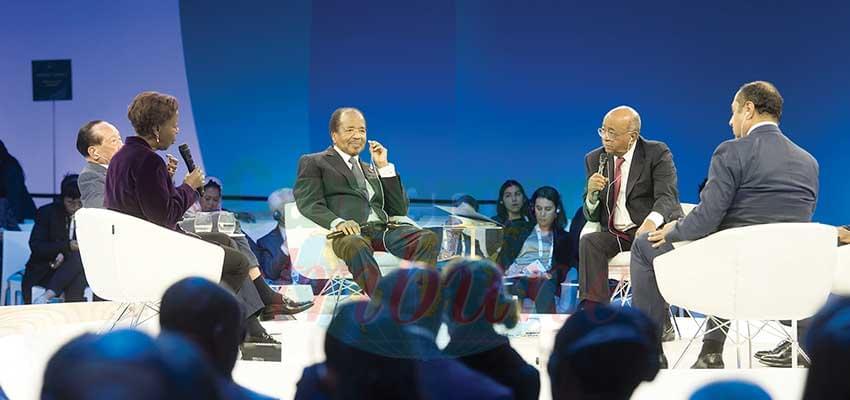 Paris Peace Forum : Pursuing Measures For Global Safety