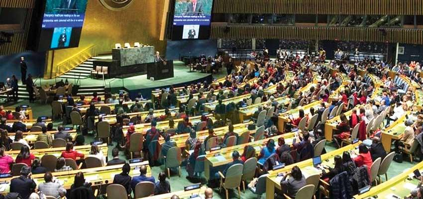Coronavirus : UN Closes Offices in New York