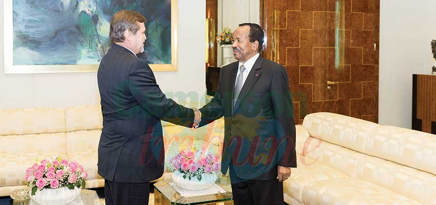 Sommet Russie-Afrique: Paul Biya invité