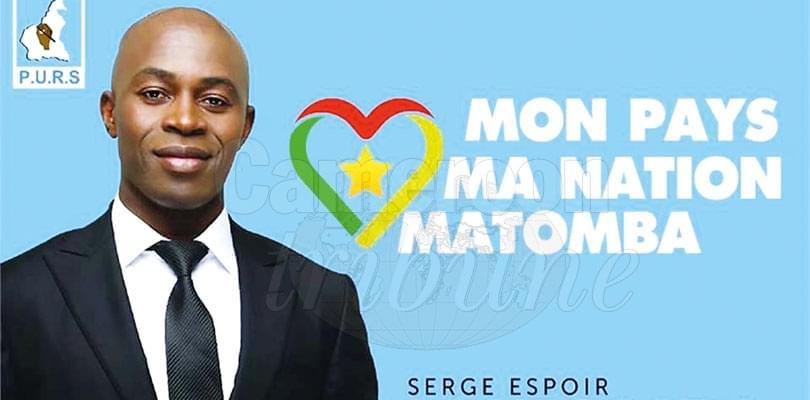 Image : Serge Espoir Matomba: le destin du Cameroun en 16 points
