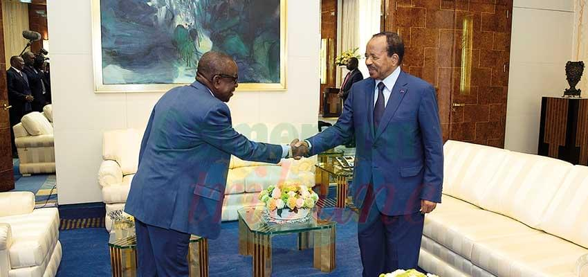 Ghanaian President Writes To Paul Biya