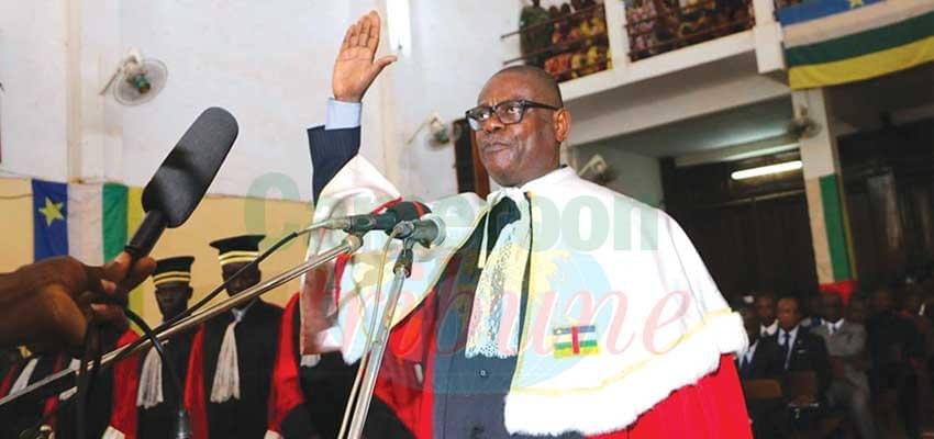Image : Cour pénale spéciale pour la RCA:Toussaint Muntasini Moukimapa décline sa stratégie