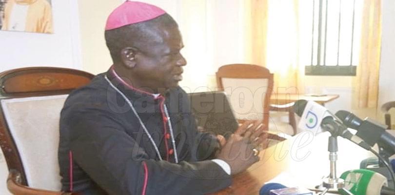 Image : Mgr Samuel Kleda donne son avis