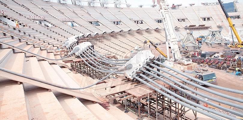 Image : On prépare la pose de la toiture: on prépare la pose de la toiture