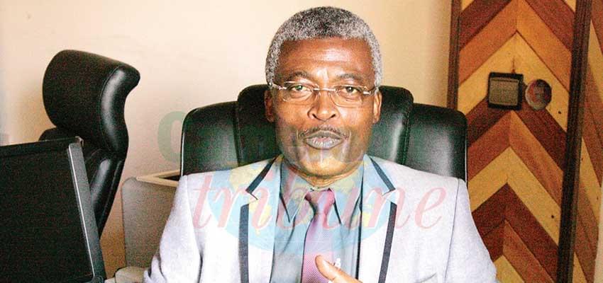Dr Georges Alain Etoundi Mballa, directeur de la Lutte contre la maladie, les épidémies et les pandémies au Minsanté.