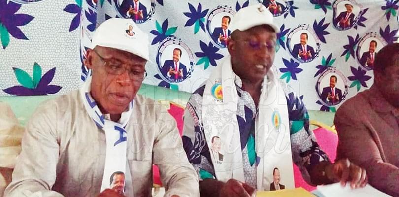 Image : Kupe-Muanenguba: CPDM Bigwigs Lead Rigorous Campaign For Biya