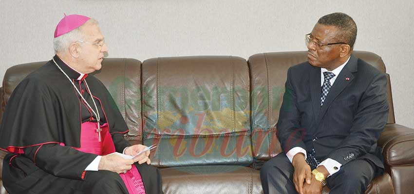 Image : Cameroon-Vatican: Consolidating Cooperation