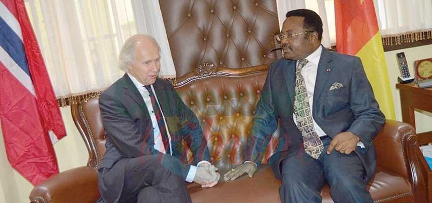 Image : Cameroon-Norway Relations:Parties Manifest Interest Of Widening Ties
