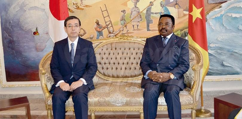 Image : Diplomacy: Two Ambassadors Present Accreditation Documents