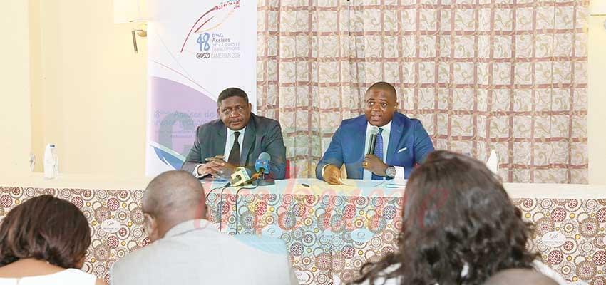 Le Sg du Mincom et le président de la section camerounaise de l'UPF promettent un grand moment.