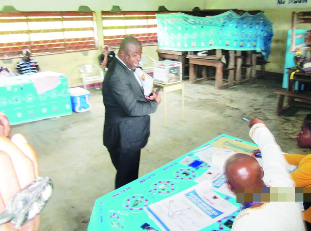 22 March Legislative re-run in Lebialem Constituency : Polling Conducted In All Voting Centres