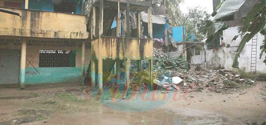 Sodiko-Bonabéri : un immeuble sème le danger