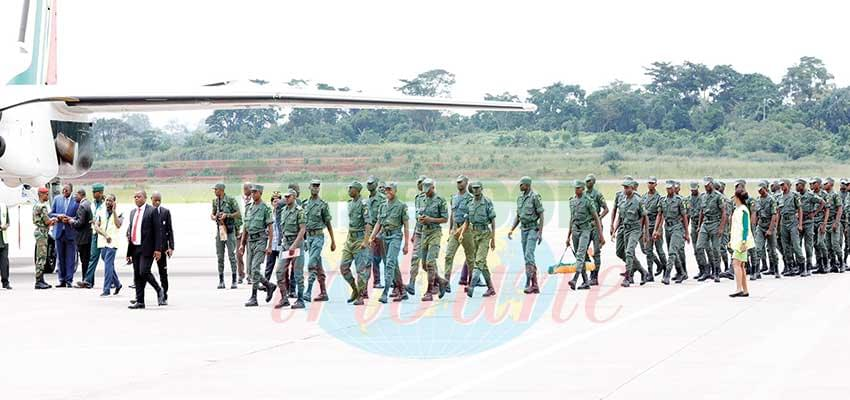 Congolese Detachment Ready For Grandiose Parade