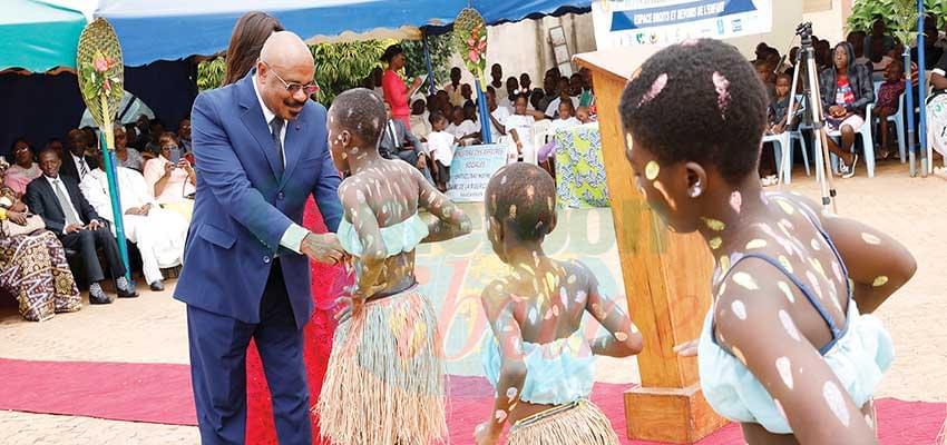 Célébration: l'avenir avec l'enfant africain