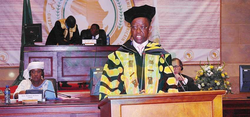 Parlement panafricain: l'appel à la solidarité