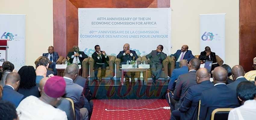 Image : Economic Commission For Africa: 60th Anniversary Celebrated In Yaounde