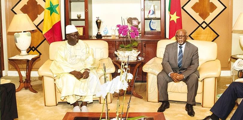 Image : Cameroon – Senegal: Ambassador Presents Copy Of Letter Of Credence