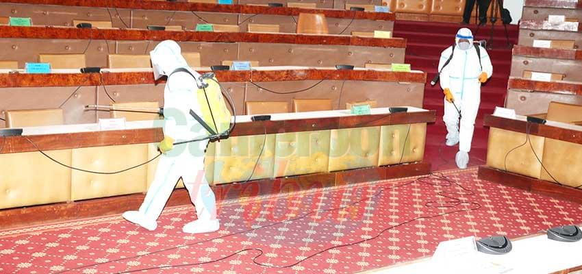 Covid-19 : National Assembly Disinfected
