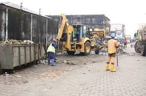 Image : Douala II: en mode hygiène et salubrité