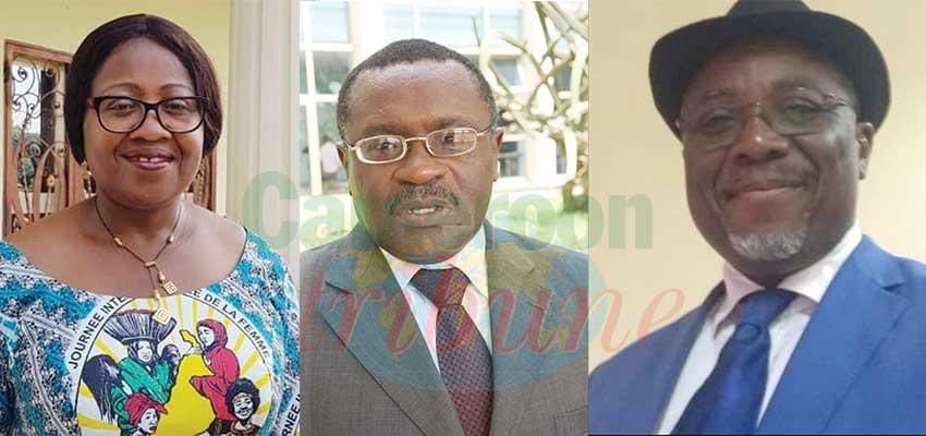 Virginie Lekeufack, Nkeng Georges Elambo et Charles Bwemba.