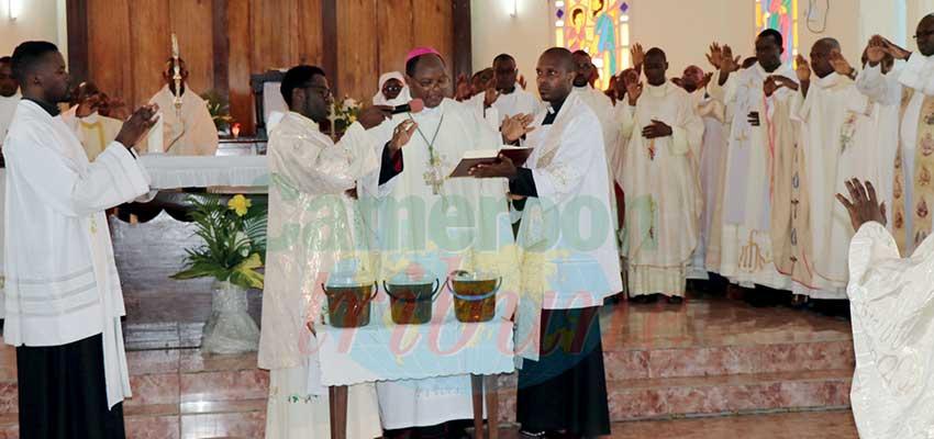 Diocèse de Kribi: Mgr Damase Zinga rappelle ses prêtres à l'ordre
