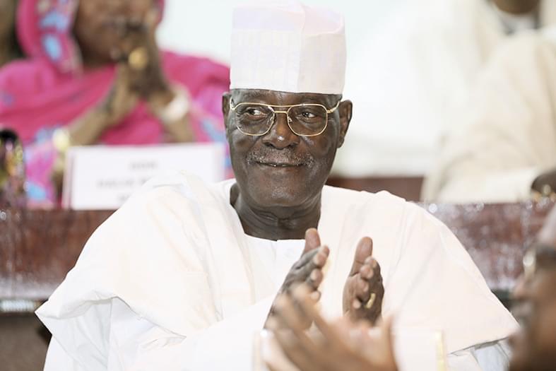 A la tête de l'Assemblée nationale depuis 1992, Cavaye Yeguié Djibril se présente comme celui qui saura toujours rassembler.