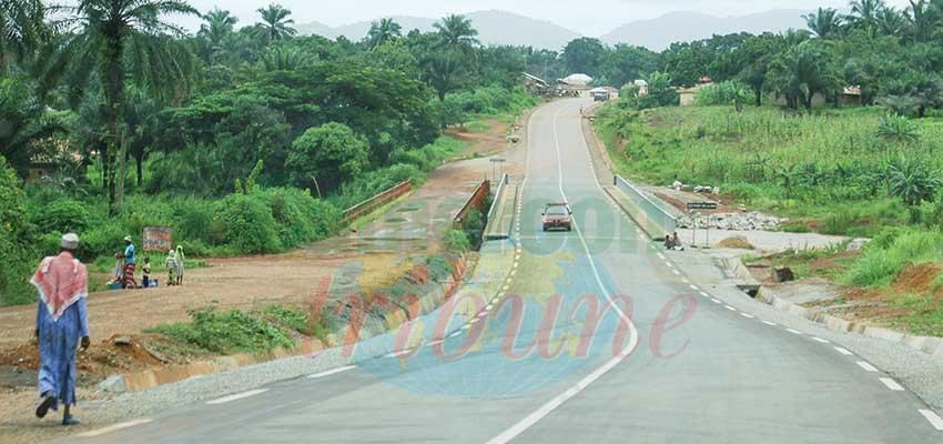 Manki II-Pont de la Mapé : la route est prête