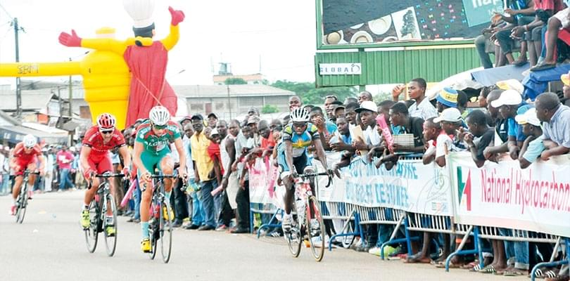 Image : Chantal Biya International Cycling Tour: Preparations Hot Up