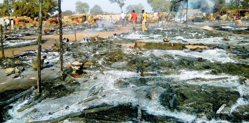 Image : Centrafrique: Batangafo en cendres