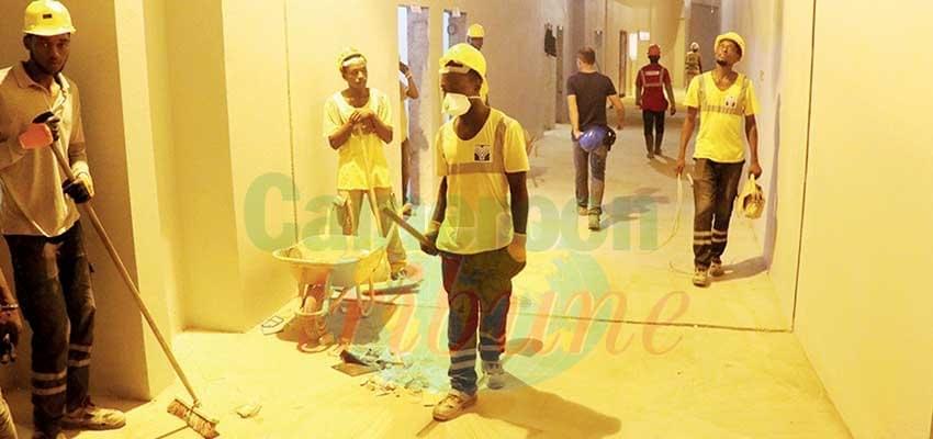 Image : Infrastructures sportives: Japoma à plein régime