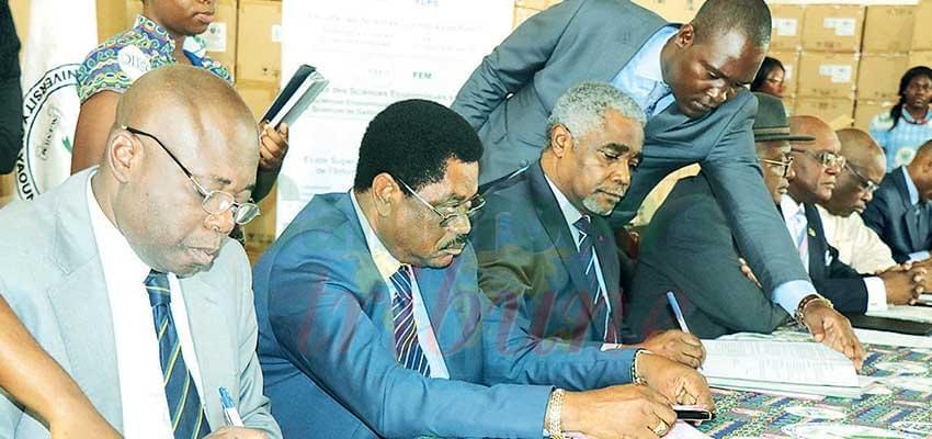 Image : Université de Yaoundé II-Soa: place à de nouveaux partenariats