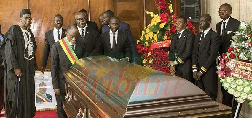 Image : National Assembly: Last Respects To Hon. Eloundou Barnabé