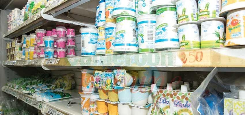 Les produits laitiers doivent être conservés à bonne température.