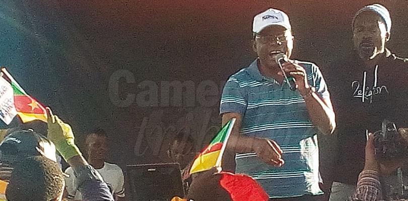Image : Ebolowa: Kamto promet l'éducation pour tous