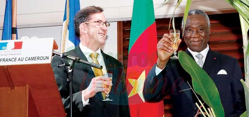 Un toast pour magnifier une coopération diversifiée.
