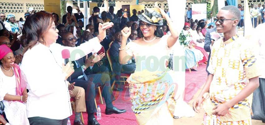 National School Orientation Day : Nalova Lyonga Steals the Show
